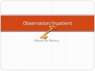 Observation/Inpatient