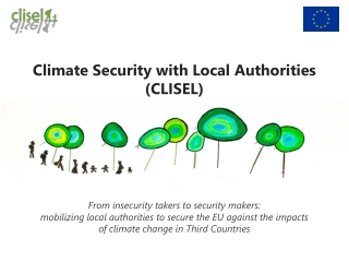 Climate Security with Local Authorities (CLISEL)