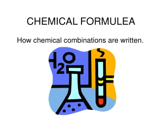CHEMICAL FORMULEA
