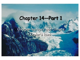 Chapter 14—Part 1