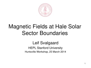 Magnetic Fields at Hale Solar Sector Boundaries