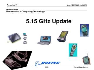 5.15 GHz Update