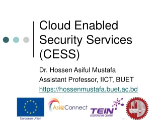 Cloud Enabled Security Services (CESS)