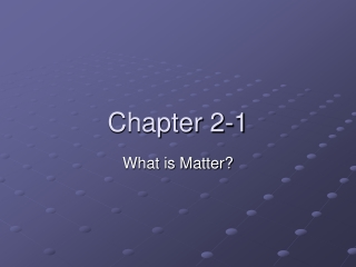 Chapter 2-1