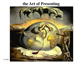 the Art of Presenting