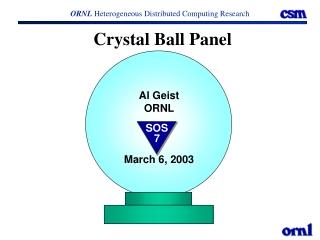 Crystal Ball Panel