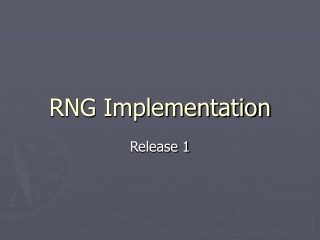RNG Implementation