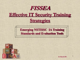 FISSEA Effective IT Security Training Strategies