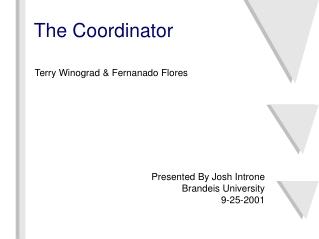 The Coordinator