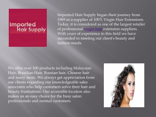 Change Your Appearance with Virgin Hair Extensions