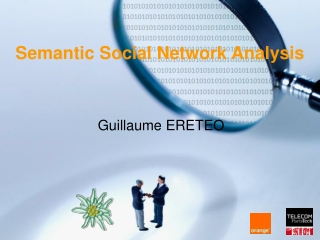 Semantic Social Network Analysis