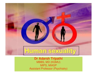 Dr Adarsh Tripathi MBBS, MD (KGMU) MIPS, MIASP Assistant Professor (Psychiatry)