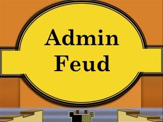 Admin Feud