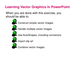 Learning Vector Graphics in PowerPoint