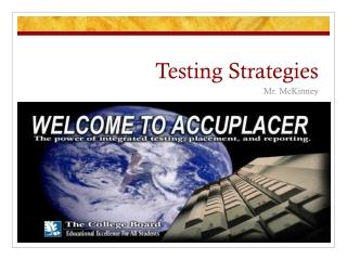 Testing Strategies