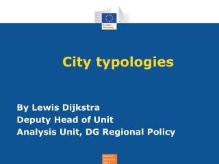 City typologies