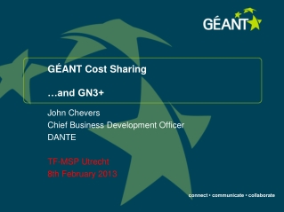 GÉANT Cost Sharing …and GN3+