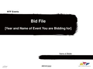Bid File