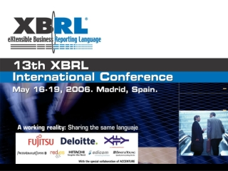 Building an Integrable XBRL Portal Daniel Hamm German Central Bank Daniel.Hamm@bundesbank.de
