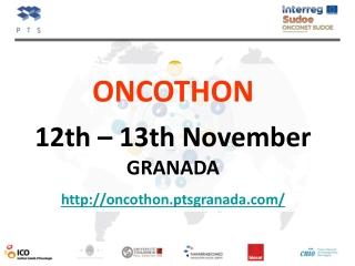 12th – 13th November GRANADA oncothon.ptsgranada/