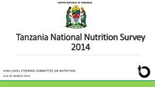 Tanzania National Nutrition Survey 2014