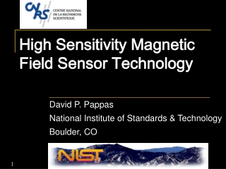 High Sensitivity Magnetic Field Sensor Technology
