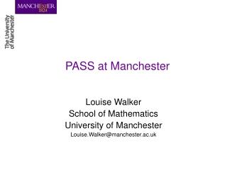 PASS at Manchester