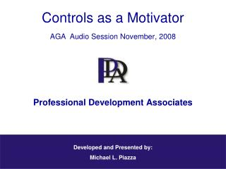 Professional Development Associates