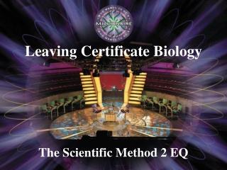 The Scientific Method 2 EQ