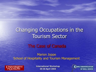 Changing Occupations in the Tourism Sector