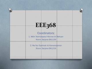 EEE368
