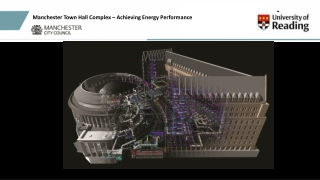 Manchester Town Hall Complex – Achieving Energy Performance