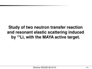 Study of two neutron transfer reaction and resonant elastic scattering induced