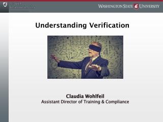 Understanding Verification