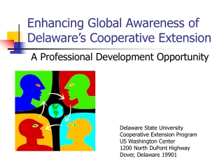 Enhancing Global Awareness of Delaware's Cooperative Extension