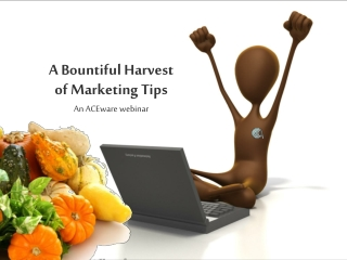 A Bountiful Harvest of Marketing Tips
