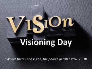 Visioning Day