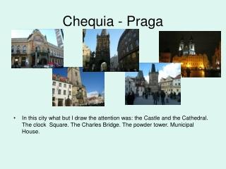 Chequia - Praga
