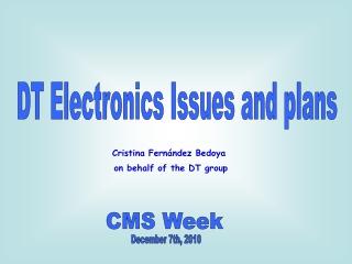 CMS Week