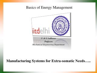Basics of Energy Management