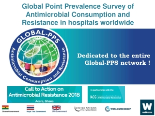 Global Point Prevalence Survey of Antimicrobial Consumption and Resistance in hospitals worldwide