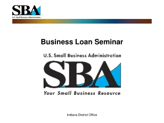 Business Loan Seminar
