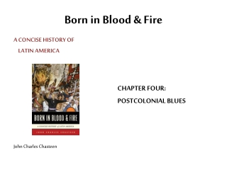 Born in Blood & Fire
