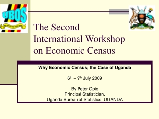 The Second International Workshop on Economic Census