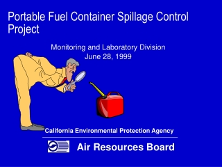 Portable Fuel Container Spillage Control Project