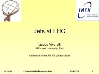 Jets at LHC