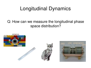 Longitudinal Dynamics