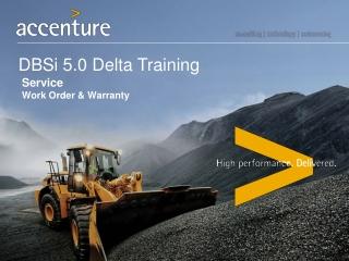 DBSi 5.0 Delta Training
