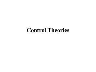 Control Theories