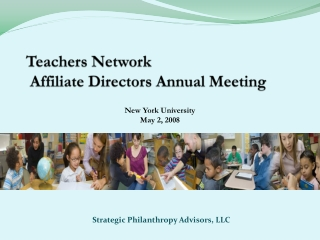 Teachers Network   Affiliate Directors Annual Meeting